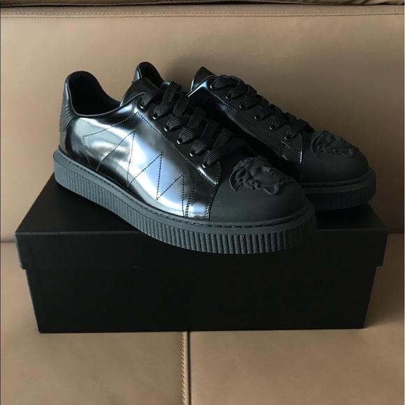 Versace Medusa Black Nyx Sneakers 43 Us